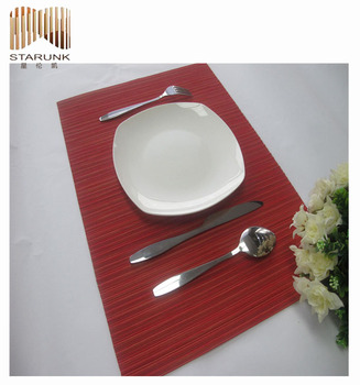 reusable and durable polypropylene kids placemat for sale