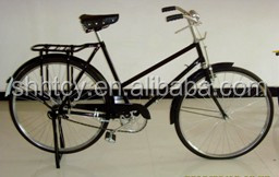 "traditional heavy bicycle lady 28"" (SH-TR007)"
