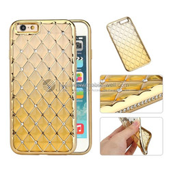 2017 new design Electroplating 360 degrees full tpu+pc phone cover case for iphone 7 plus