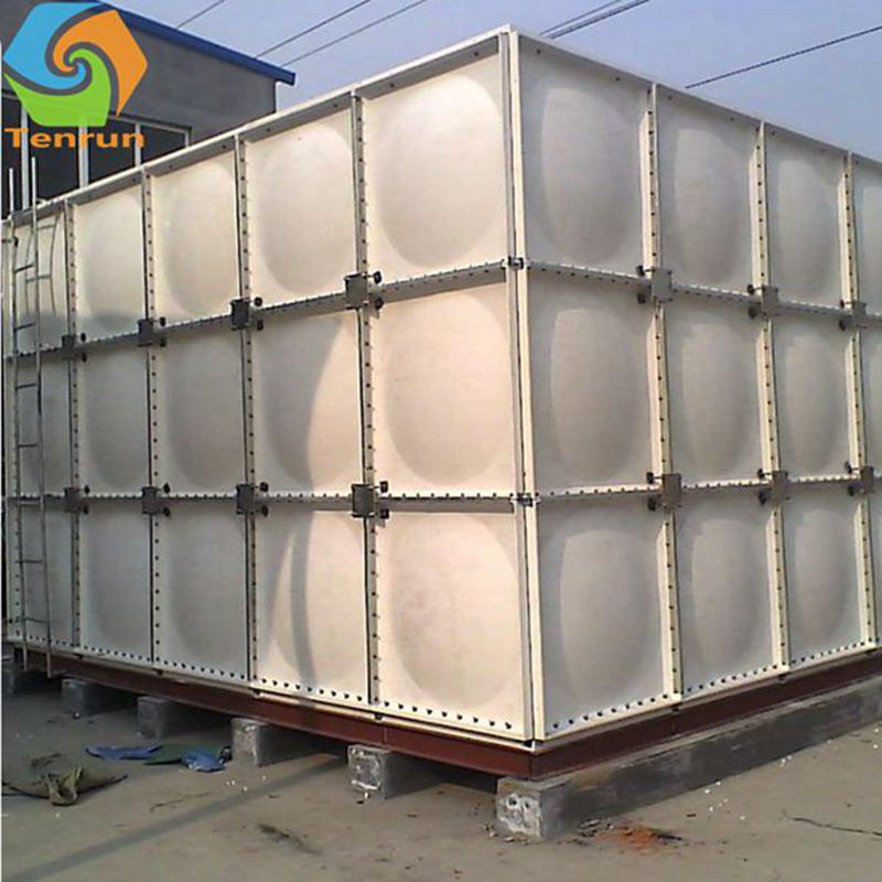 Best price professional manufacture GRP water tank for fire fighting / drinking water storing