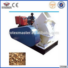 6-8t/h Wood cutting machine forestry machinery/ diesel disk wood chipper