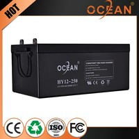 New style lovely new design 12V 250ah storage battery