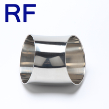 RF Sanitary Stainless Steel 45 Degree Weld Elbow Bend Pipe Fitting