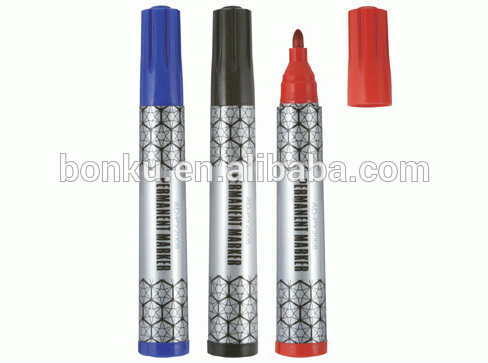 promotional logo printed gift mini sharpie design permanent marker pen with hook