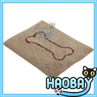 2015 new products non-slip chenille pet dog mat