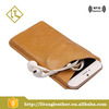 Modern best selling leather cell phone case for young men