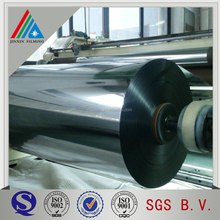 Sliver aluminum metallic polyester PET film for flexible packaging