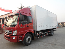 3-7Tons /dongfeng /foton refrigerated insulated van box truck body/cargo delivery van for sale from china best manufacturer