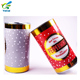 Supplying r for recyclable and eco-friendly round paper tube box with metal lid packaging for tea product with free sample
