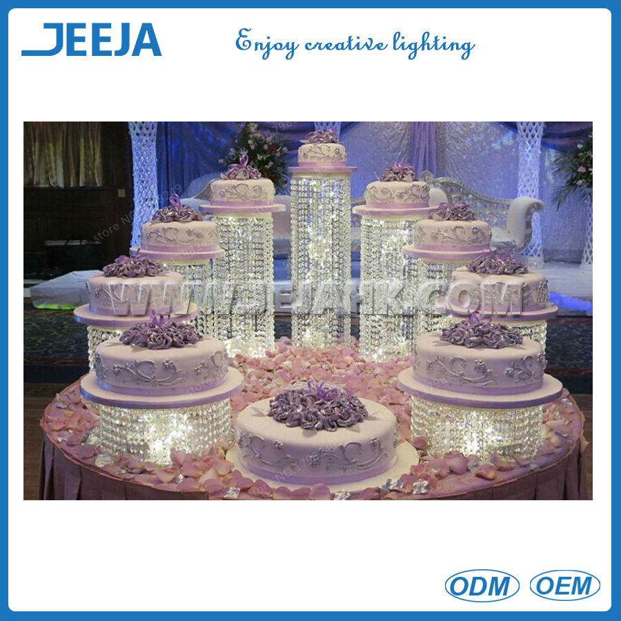 wedding centerpiece Cake bracket Cake Accessory K9 Crystal Party Crystal