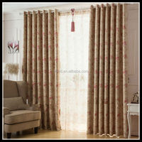 Elegant Printed Polyester Blackout Fabric/curtain made in China/high quality curtain