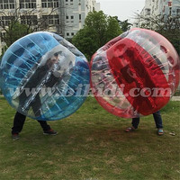 Cheap inflatable ball suit, knocker ball, roll inside inflatable ball