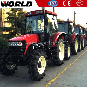 Hot Sales! 90HP 4WD small garden tractor loader backho