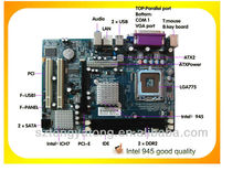 combo motherboard direct supplier msi 945 Socket LGA 775