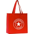 Hot selling plain tote silk-screen printing non woven bags