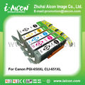 Compatible ink cartridge for hp 650XL 651XL
