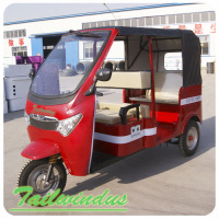 With passenger seat china electric cargo adult tricycle