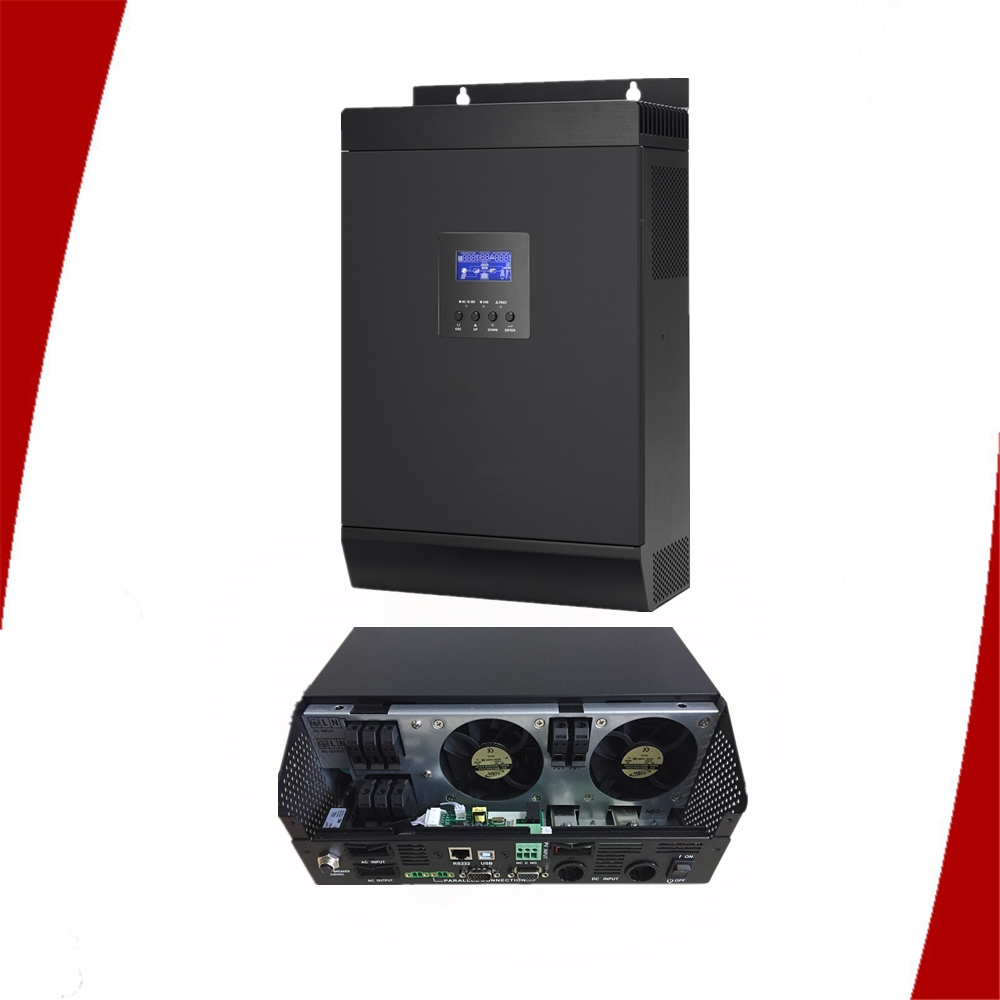 Solar/wind hybrid with mppt solar charge controller inverter inverters