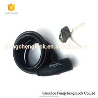 High Quality Anti-theft Bicycle Cable Lock Steel Bike Code Lock 4 digitals Bike Lock with Password