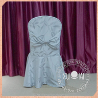 New hot sale white chiffon chiavari chair sash,chair cover for wedding