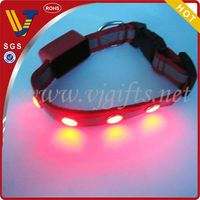 2014 Hot sales new pet products for flashing led dog cllar