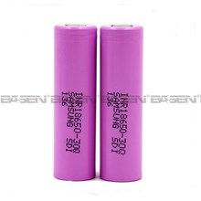 china manufacturer 3.7v li-ion rechargebal battery samsung inr18650 30Q 3.7V 18650 rechargeable lithium rechargeable battery