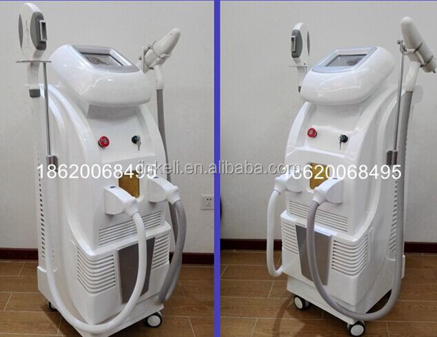New in market -- OPT SHR + Fractional RF+ ND Yag laser 2 in1 OPT shr laser beauty machine