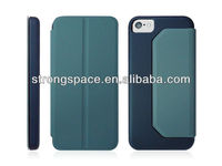 pu leather flip case for iphone5c