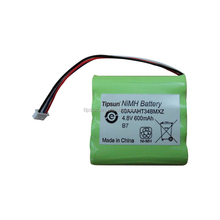4.8V 600mAh AAA Ni-MH Rechargeable Battery Pack