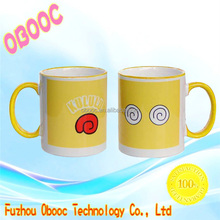Lovely shape customized oversized ceramic coffee mugs wholesale