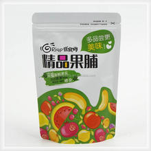 Factory customized food packaging stand up bag print for fruits candy package