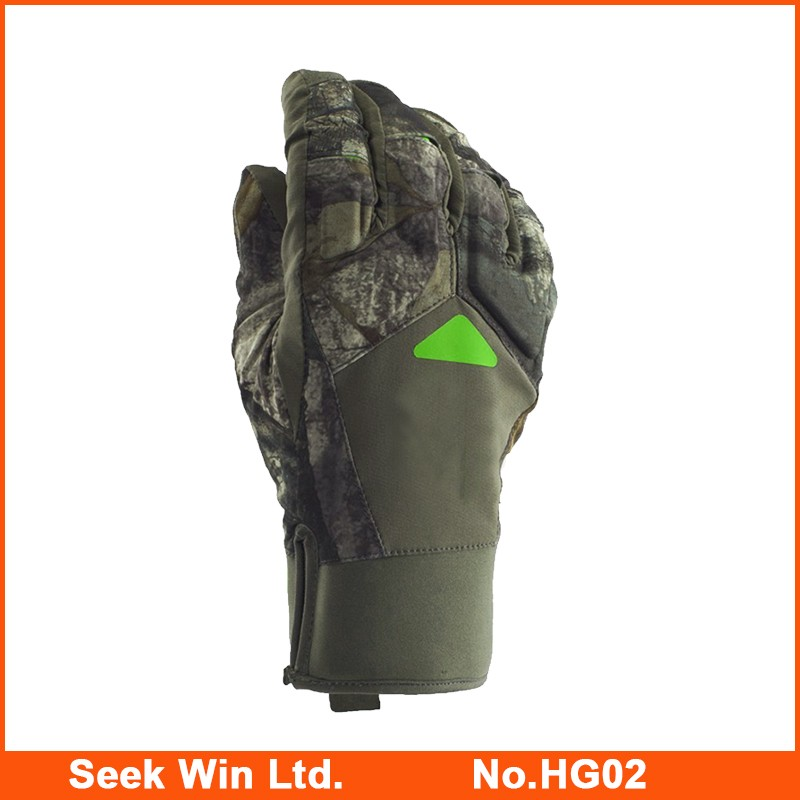 Hot Sale Warm Camo Hunting Glove Waterproof Winter Full Finger Hunting Gants Insulated Military Hunting Gloves