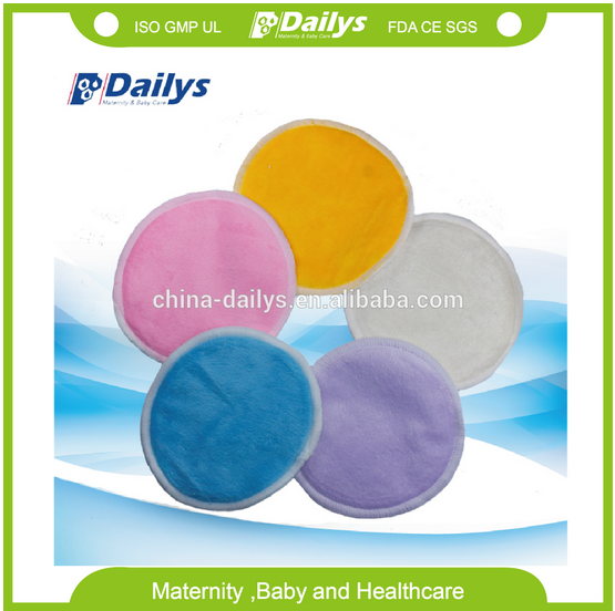Skin Care Bra Pads 100% Bamboo Breast Pads Sexy Cloth Nursing Pads