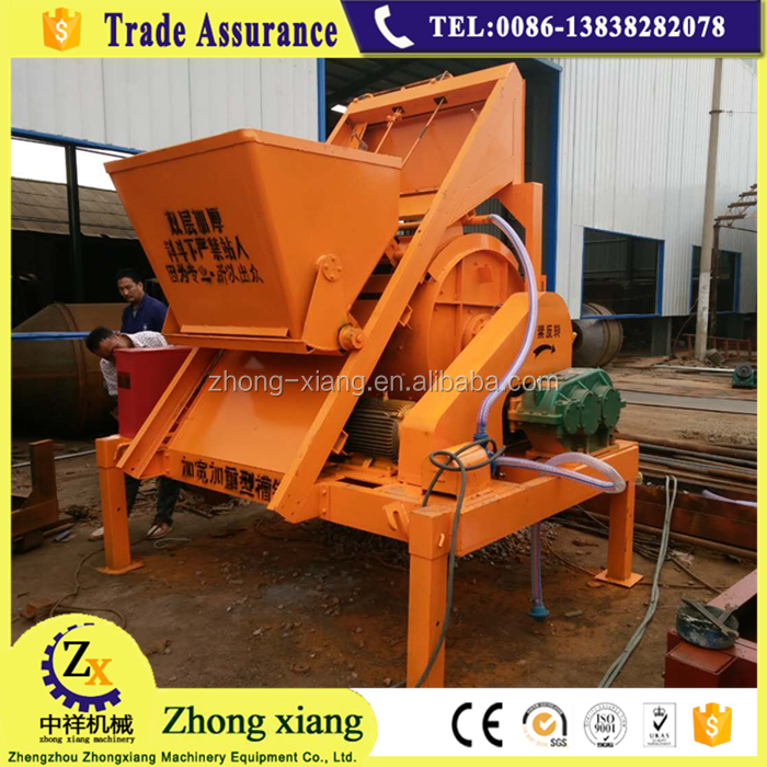 350 liter large capacity hydraulic automatic self-loading concrete mixer