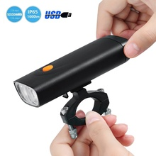 Patented High Powerful 1000 lumen IP65 Waterproof 5000mah Rechargeable USB Bicycle Bike Light