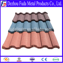 Shingle Stone Coated Roofing Tile Metal Stone Coated Steel Roofing Price Material Tile