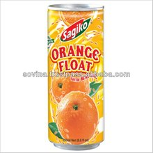 SOVINA- Sagiko Orange Float with Real Sac 250ml
