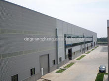 prefabricated steel structure warehouse in europe