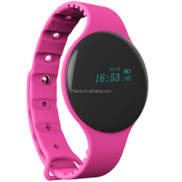 Wearable health fitness sport activity tracker smart digital bluetooth oled sleep monitor smart watch wristband bracelet