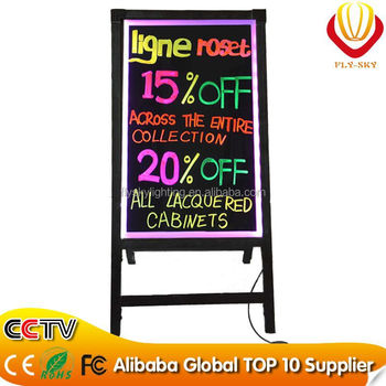 hot new products for 2016 led board write led light board 48 flash modes aluminum alloy canton fair 2016