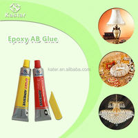 Household ISO9001 approved two components epoxy steel adhesive for jade