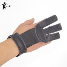 2017 new real leather production hunting shooting practice archery archery protective gloves