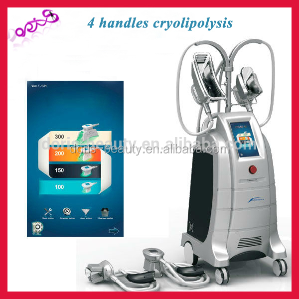 4 handles beco fat freezing reduce price cryotherapy beauty machines etg50-4s