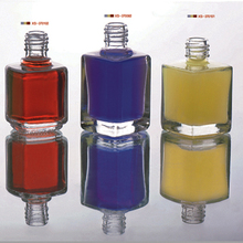 manufacture different shaped glass empty unique nail polish bottles