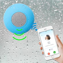 Portable Bathroom Wireless Bluetooth Speaker with Built-in-Mic,Handsfree Call, for Iphone Ipad Android