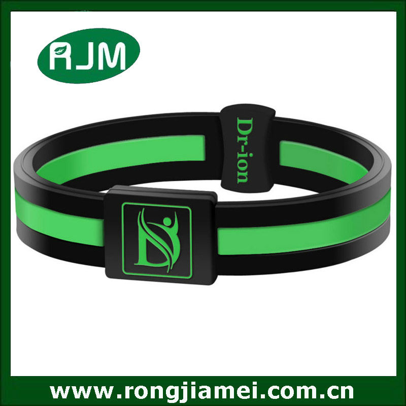 Ture Negative Ions bracelet. silicone power wrist band