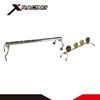 Xracing NMFR0010 High quality universal car roof lamp bar aluminum fog light hitch bike rack for car/suv/pickup