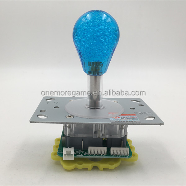 top quality 4 way 8way integrated with light flat joystick