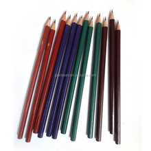 good quality lacquer coated hb wood pencil for art paint
