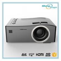 UNIC Cheapest Mini HD LED Battery Powered Projector UC18 Cheap Beamer for sale